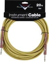 FENDER C.SHOP 20'INST CABLE TWD
