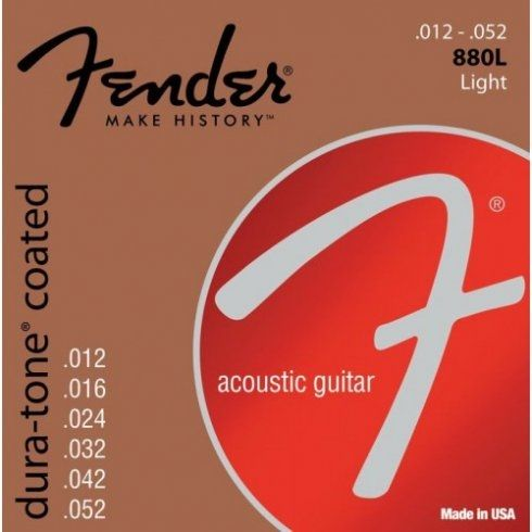 Fender 880L 80/20 Dura-Tone Coated 12-52