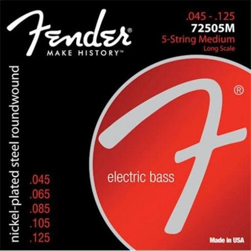 Fender 7250-5M NPS Long Scale 45-125