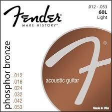 Fender 60L Phosphor Bronze Wound  12-53