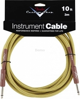 FENDER C.SHOP 10'INST CABLE TWD